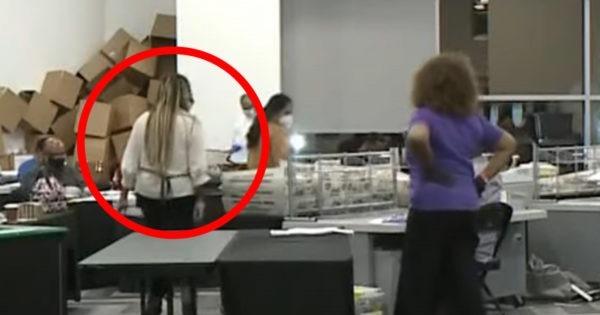 20201206ジョージア州でUSBも持ち出されていた!深夜のスーツケース隠し票スキャンと同じ母娘!犯人特定