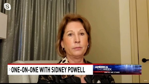 Sidney Powell says people's minds will be blown when they release evidence of election fraud relating to Dominion.