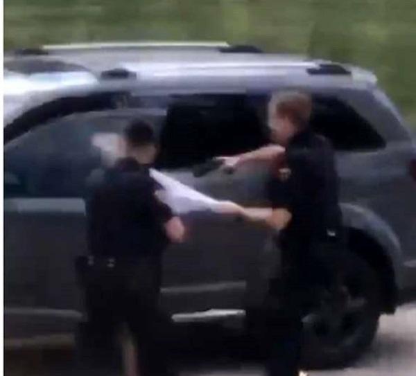 20200827米警察発砲・小松靖が映像切取りに言及「映像に前後ある。男は抵抗し警官の制止聞かず車ドア開けた」