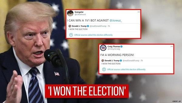 20201117トランプ「大訴訟を起こす!選挙に勝った」!選挙の違憲性と不当選挙に怒るビッグ訴訟をまもなく提出