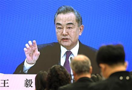 20210309王毅が暴言連発で厚顔無恥を世界発信「ジェノサイドはデマ!台湾統一は必須!海警局武器使用は合法」