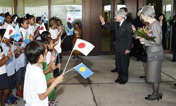 そんなパラオを歓喜に包んだのが、平成27年(2015年)の天皇皇后両陛下のパラオご訪問だった。