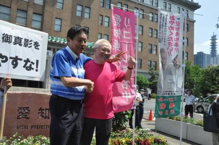 高須院長(左)と河村市長20200828大村知事リコール妨害デマ!香山リカ「署名者の住所氏名が公開!命がけ」町山智浩らも・高須院長激怒