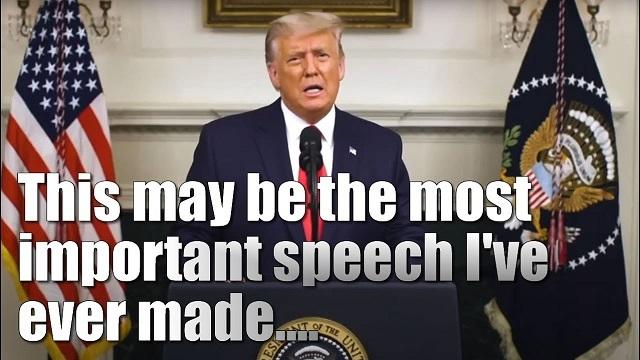 20201204米大統領選挙、今後の日程・トランプがWHでの「最重要演説」で不正を説明!今後の逆転劇への布石