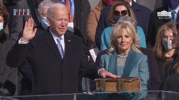The Inauguration of the 46th President of the United States