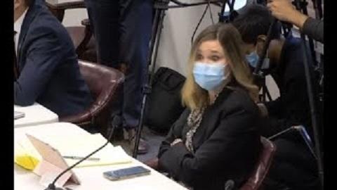 20201207民主党上院議員が集計作業に潜伏していた!ジョージア州の公聴会で映像を見せられ「ヒェッ」と奇声