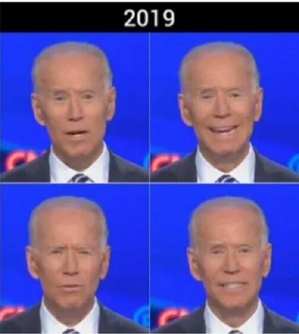 本物のバイデン副大統領と偽物(影武者、代役、そっくりさん)のジョー・バイデン