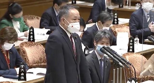 20210320平井卓也「私はLINEを今後も利用する」デジタル相失格!山田宏「政府の中では使用を停止すべき」