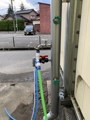 6棟物件給水設備更新井水給水管