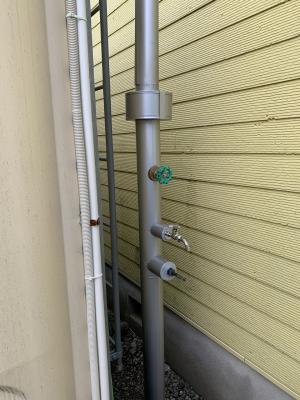 6棟物件給水設備更新市水給水管
