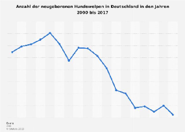 ドイツ 純血種 子犬生産数