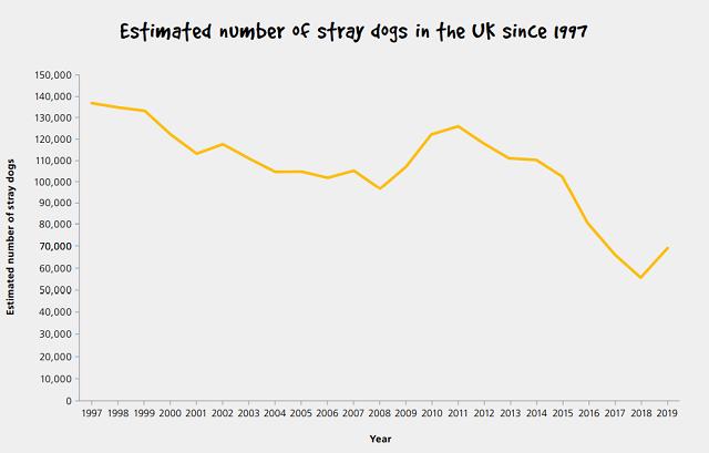 イギリス 野良犬 収容数