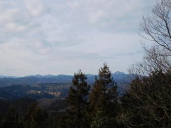 富士見の丘から富士山