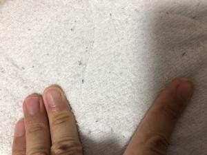 Bの時の指について