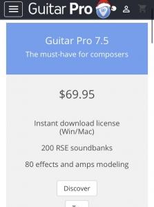 guitar pro(英語)