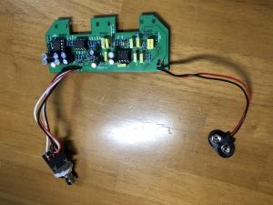エフェクター電子回路
