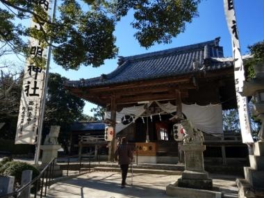 10由美子さん産土 西神明社 (1)