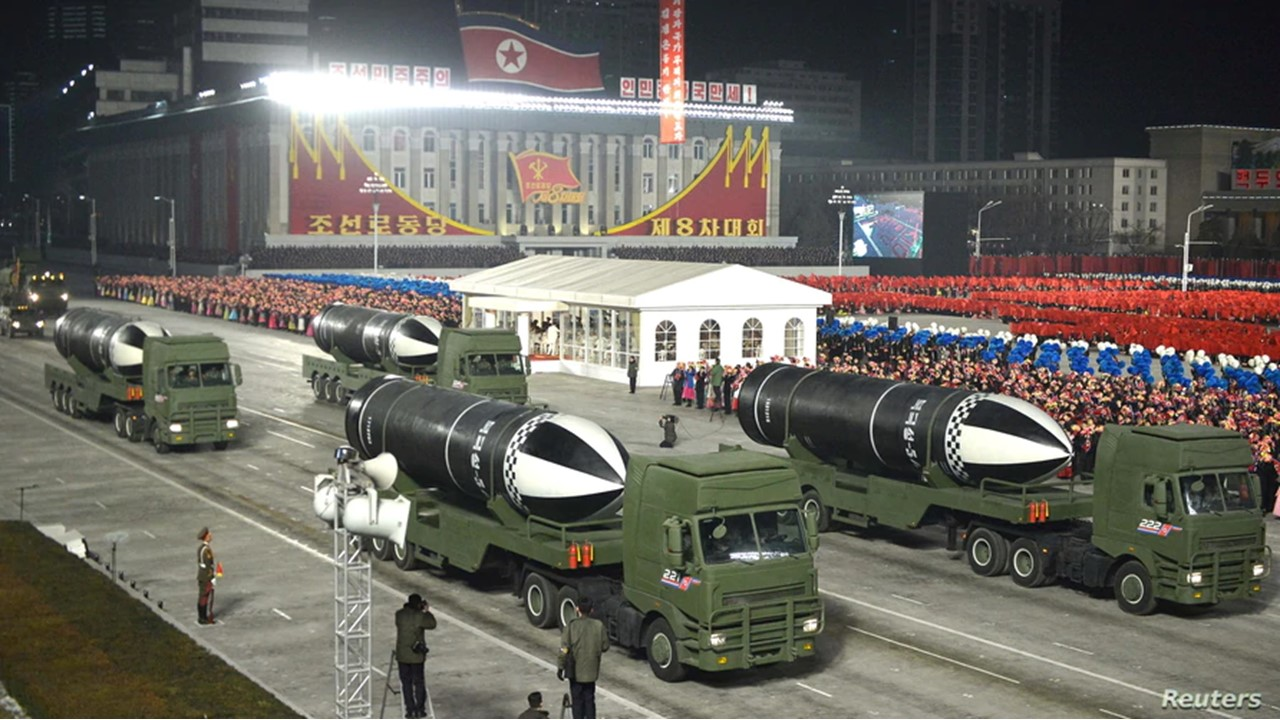 NK Military parade Jan14,2021