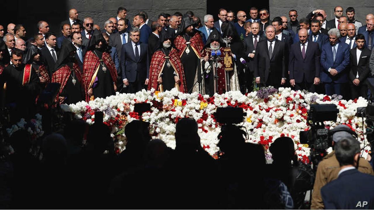 アルメニア虐殺認定