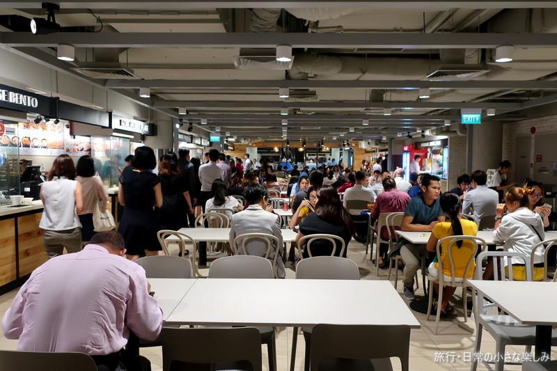 フードコート シンガポール ローカルフード