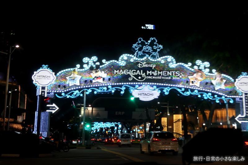 シンガポール オーチャード クリスマス