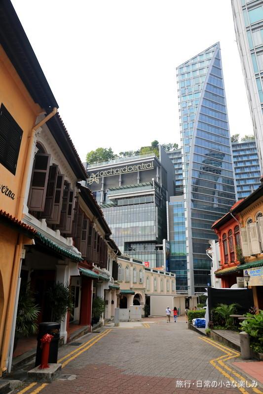 プラナカンの街並み シンガポール サマーセット