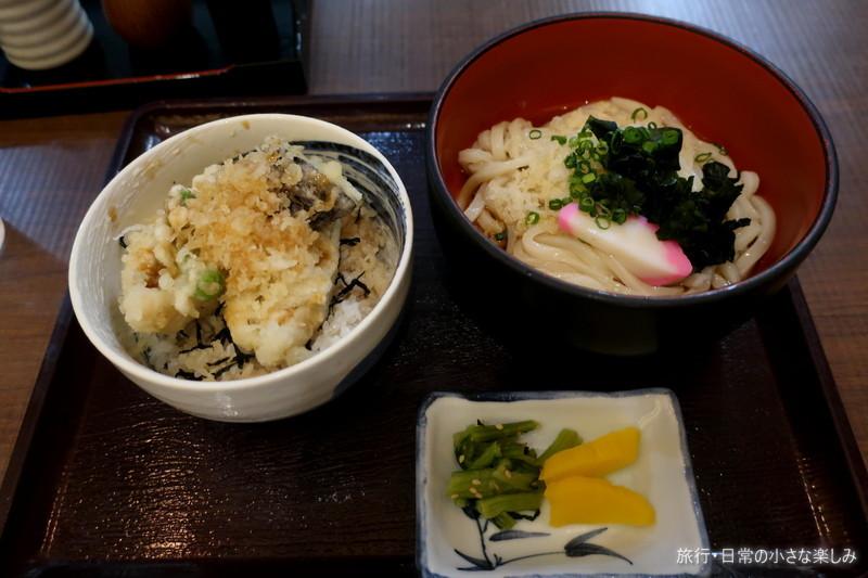 佐藤水産 穴子丼うどんセット