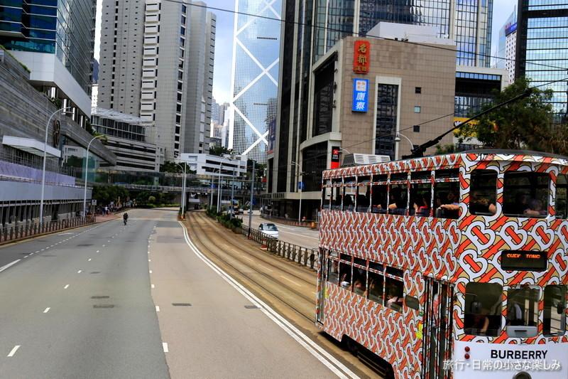 ホンハムから香港島へ バス