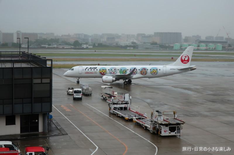 伊丹空港 JAL しまじろうジェット