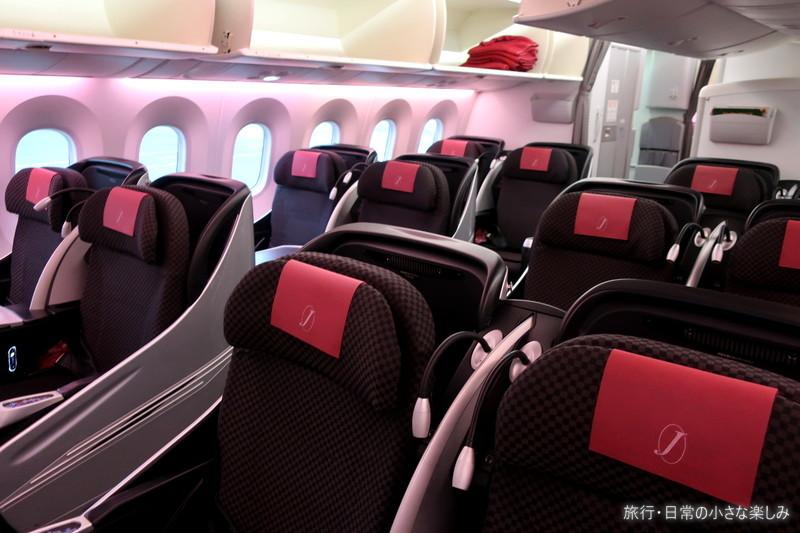 JAL 国際線機材国内線
