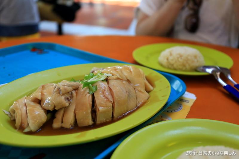 天天海南鶏飯 マクスウェルホーカーズ シンガポール チキンライス