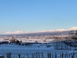 連なる大雪連山の山並み1