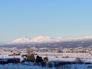 大雪山黒岳方面がとてもくっきり見えました!
