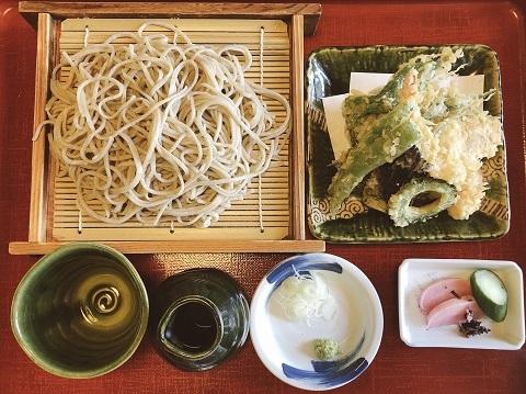 天ぷら蕎麦二八