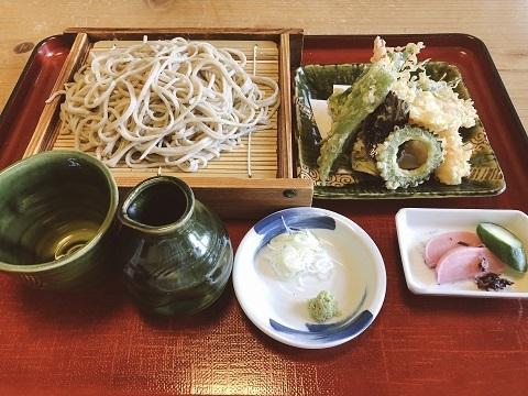 天ぷら蕎麦二八2
