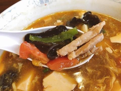 酸辣湯麺具