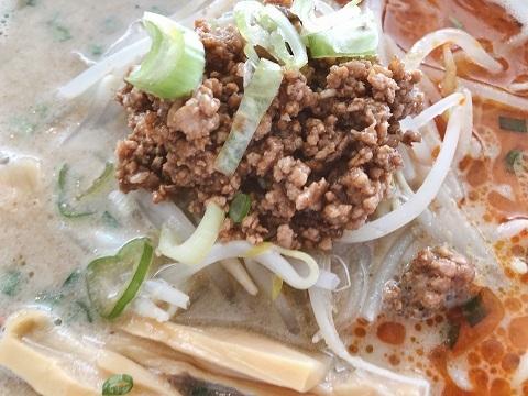 塩担々麺挽肉