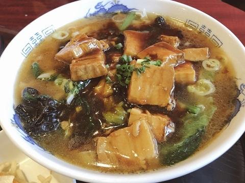 豚角煮刀削麺2