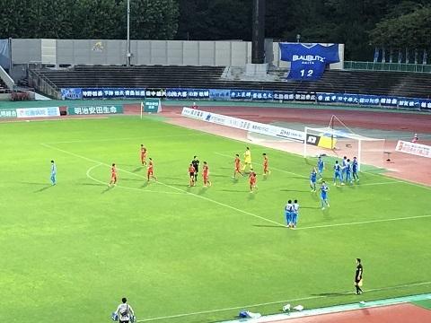 サッカー試合3