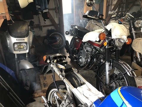 18バイク小屋