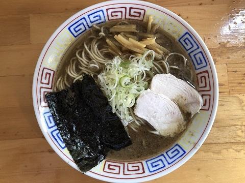 煮干と豚のハイブリッド中華蕎麦