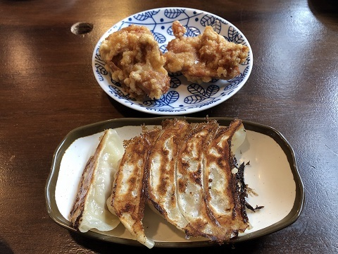 ザンギ餃子