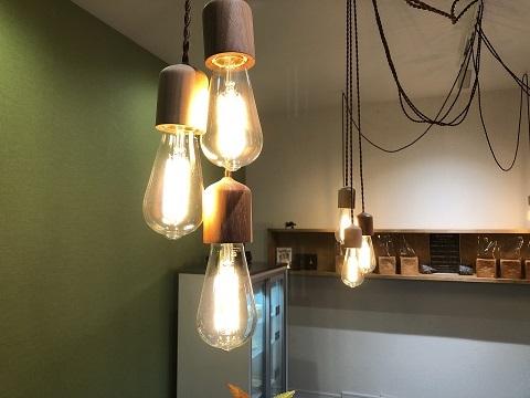 店内ランプ