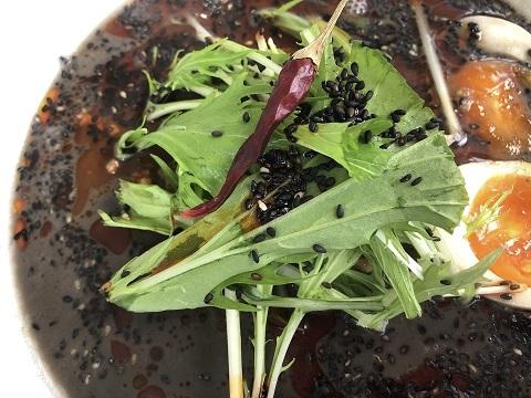 黒担々麺5