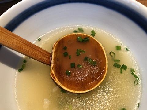 おぼろ昆布スープ