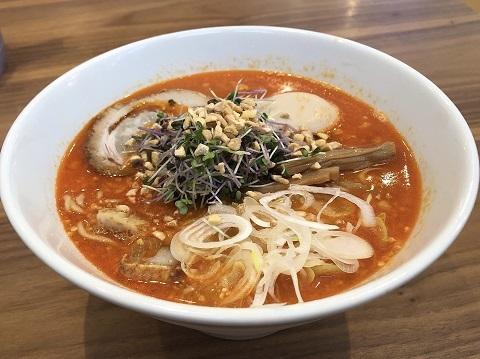 ピリ辛節納豆ラーメン1