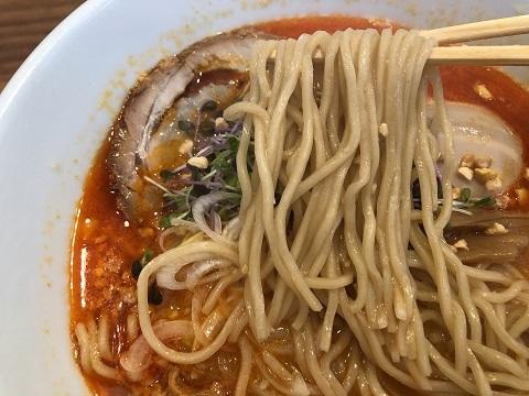 ピリ辛節納豆ラーメン3