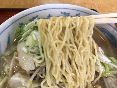 タンメン麺アップ