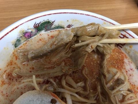 ぴり辛担々麺4
