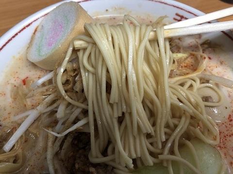 ぴり辛担々麺5
